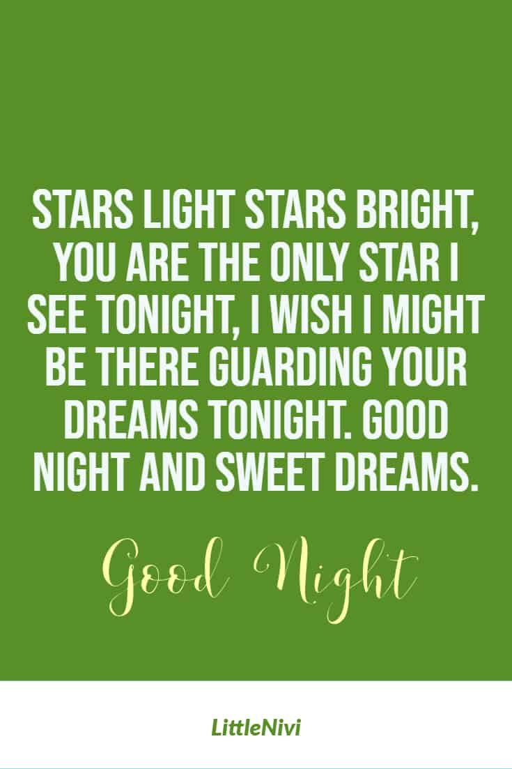 58 Good Night Quotes For Her Images And Messages Littlenivi Com