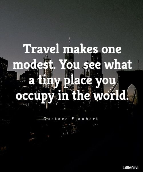 Short quotes about travel - Great travel quotes
