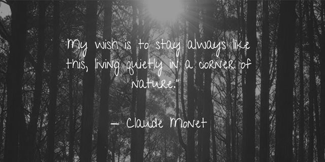 Beautiful nature quotes about life and the earth