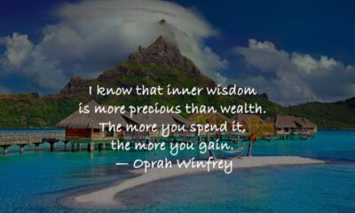 Inspirational Quotes About Wisdom That will Motivate