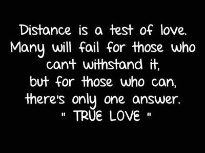 long distance marriage quotes distance doesn't matter quotes