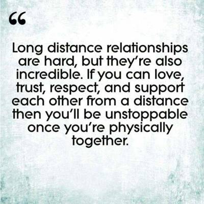 quotes about long distance relationships being hard