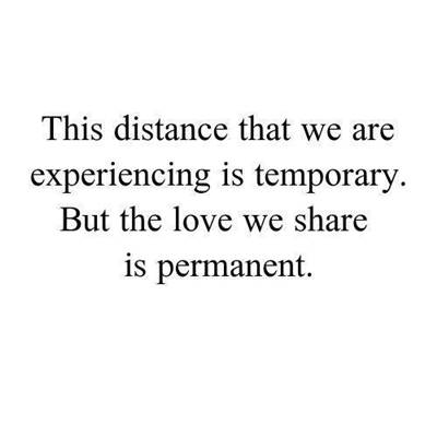 quotes for long distance relationship apart in distance but never in heart