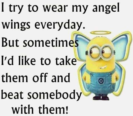 42 Funny Jokes Minions Quotes With Images Funny Text Messages 44