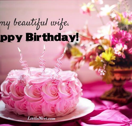 Cute Romantic Happy Birthday Wishes For Wife
