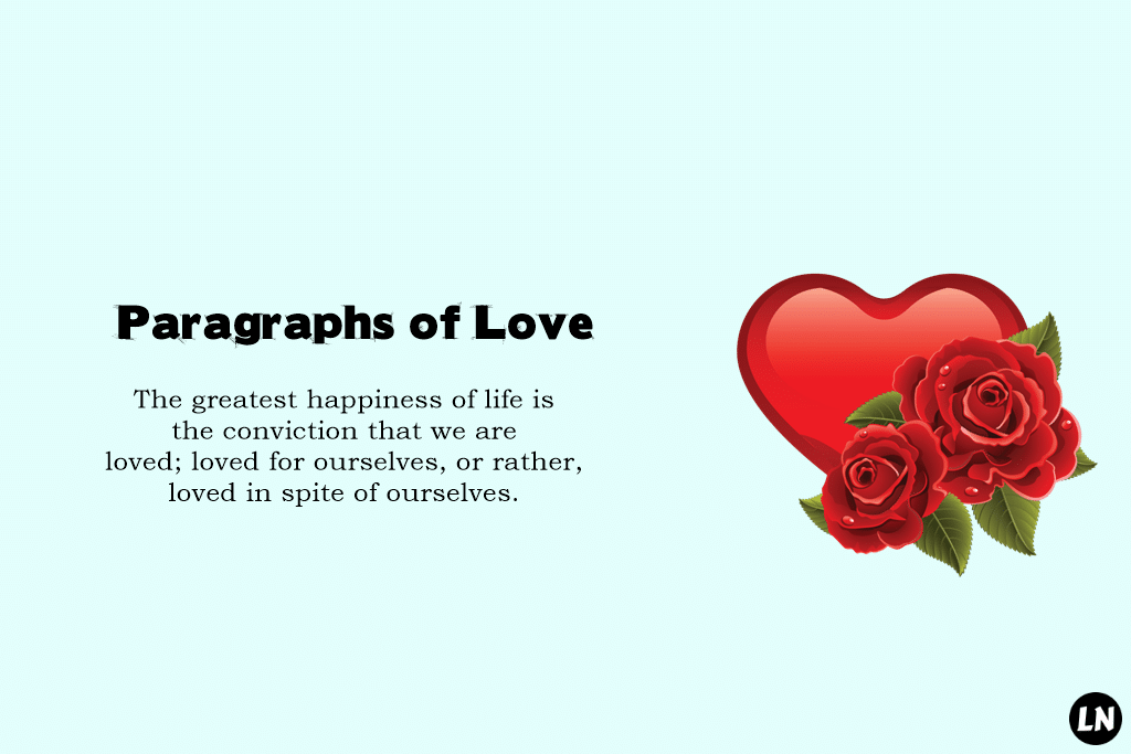Cute Love Paragraphs for Her Paragraphs of Love