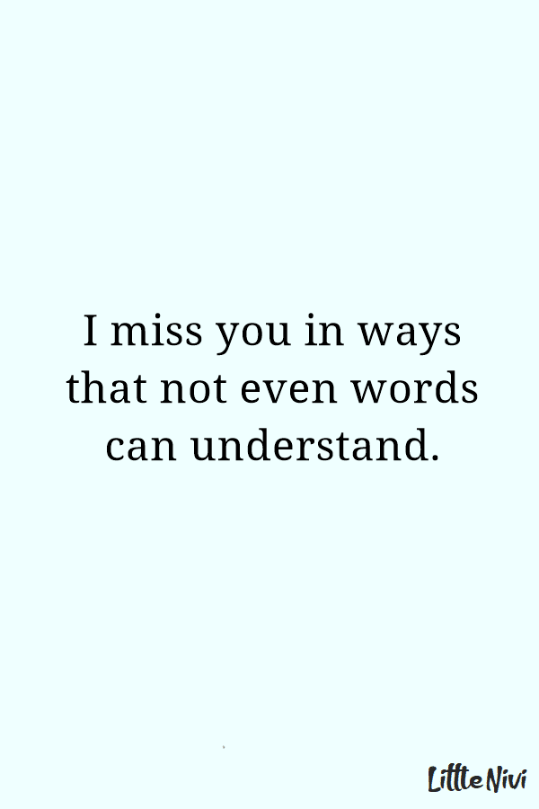 I Miss You Quotes for Her Messages