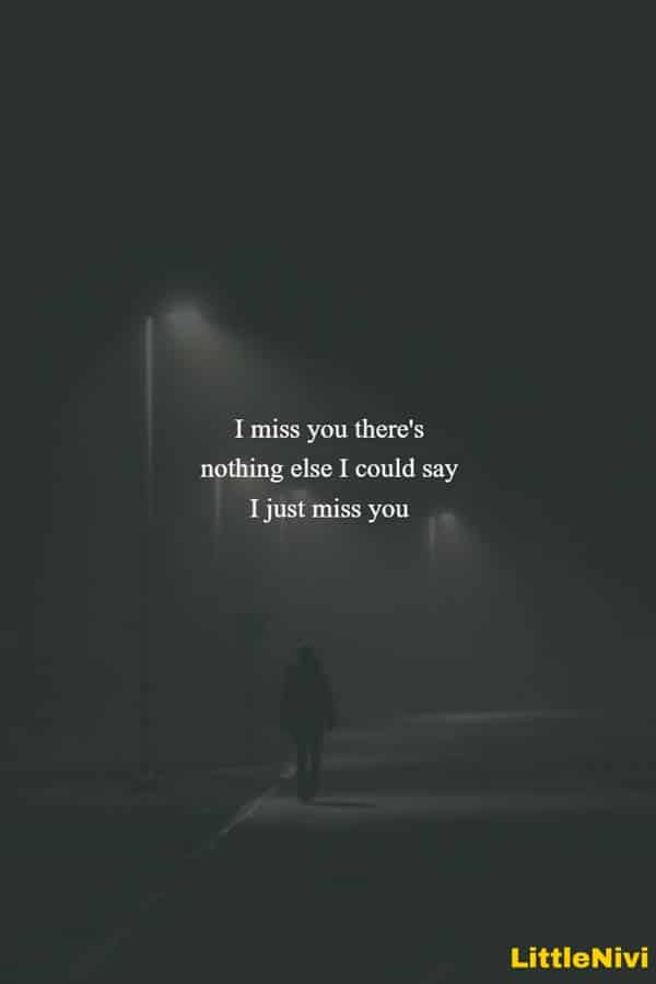 I miss you so much quotes cute love images