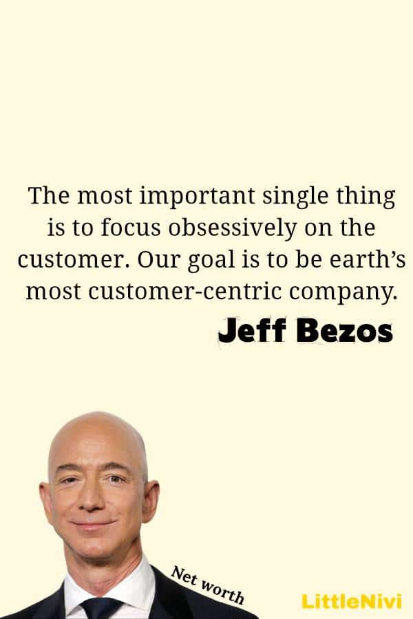 Inspirational quotes on Jeff Bezos Jeff Bezos Quotes