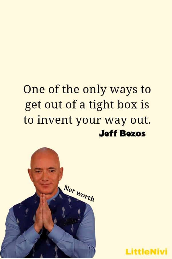 Jeff Bezos Quotes on Business Innovation Life