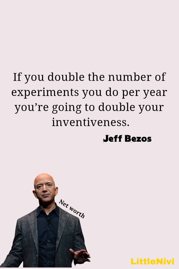 Jeff Bezos Quotes on Success and Business