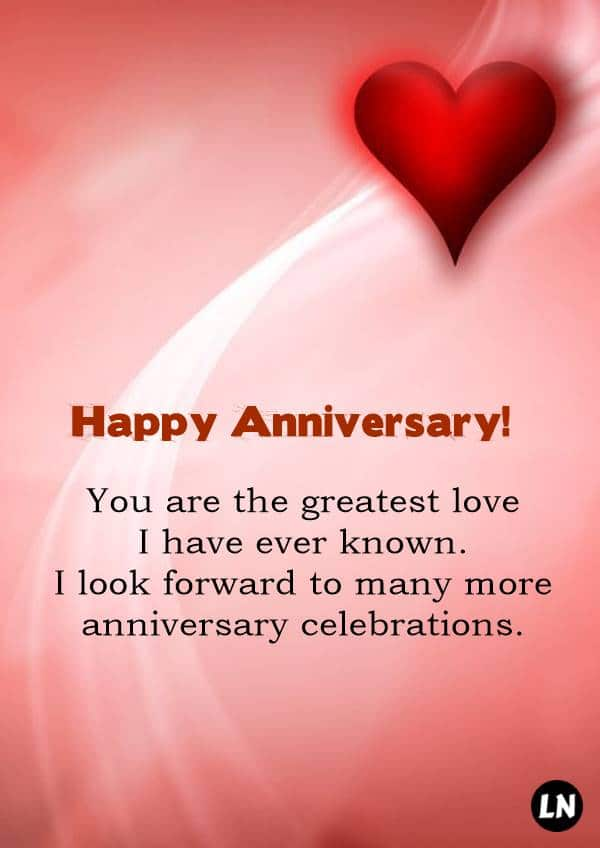 To the Greatest Love Happy Anniversary Card Birthday Greeting Cards Happy anniversary cards Happy anniversary wishes Happy anniversary to my wife