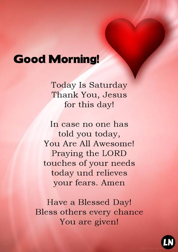 Today Is Saturday. Thank You, Jesus. Amen! Have a Blessed Day! | Happy day quotes, Happy saturday quotes, Funny pictures