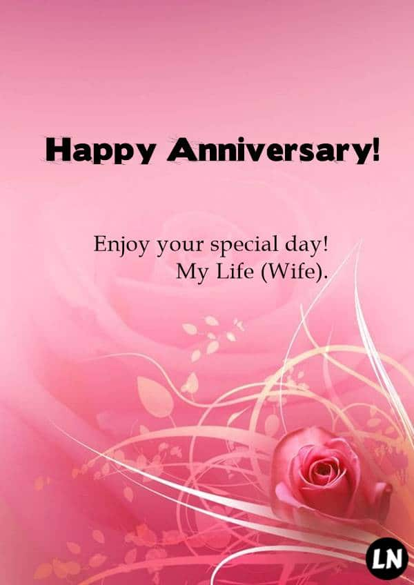 Wedding Anniversary Cards for Wife best anniversary wishes for wife
