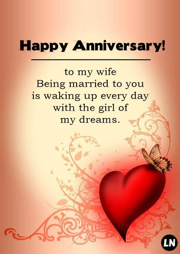 Wedding Anniversary Messages to Show your Wife you Truly Care