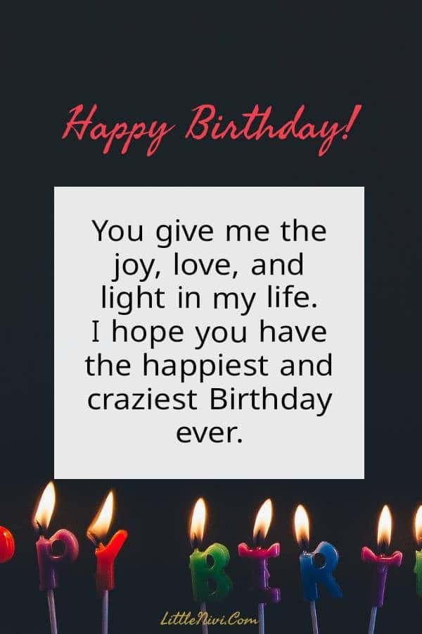 Romantic Birthday Wishes for him - birthday Greetings | Birthday wishes for lover, Birthday message for boyfriend, Happy birthday wishes quotes