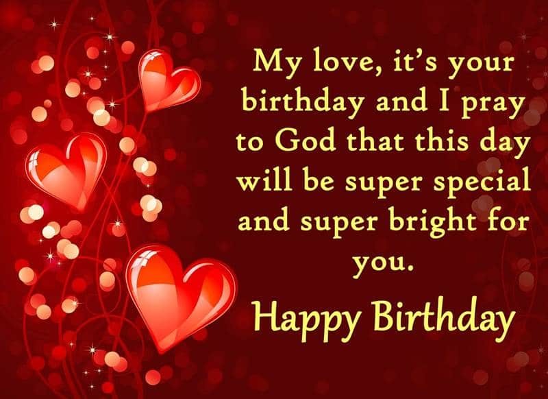 Best Birthday Wishes for Lover | Messages, Wishes, emotional birthday wishes for lover, cutest birthday wishes for boyfriend