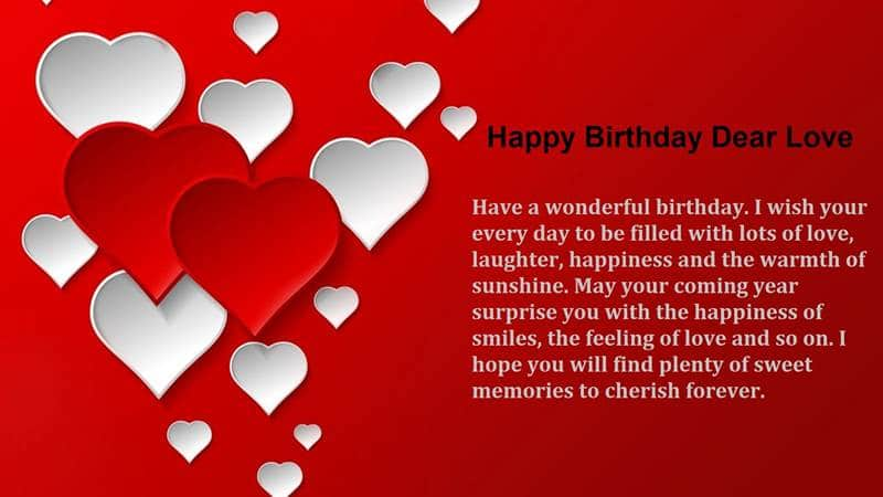 Cute Birthday Wishes for Sister | impressive birthday wishes for sister, two line birthday wishes for love, surprise birthday wishes for lover