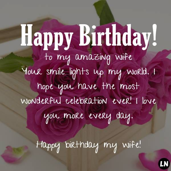 I Love You More! Happy Birthday Wishes Card for Wife | Birthday & Greeting Cards