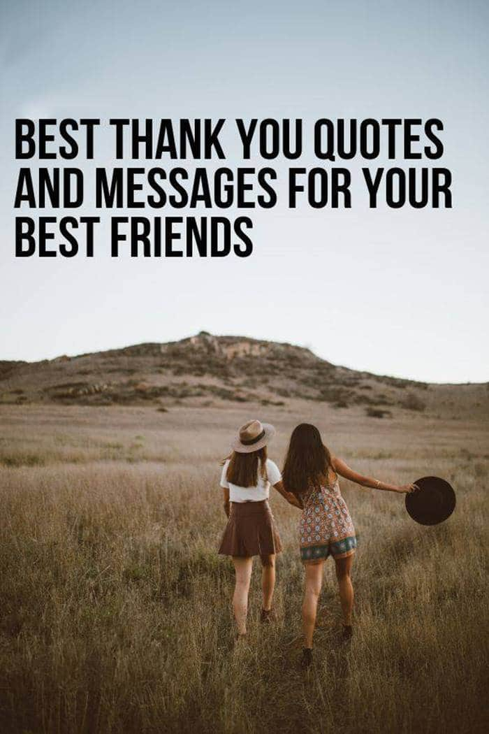 80 Thank You Quotes about Friendship Wishes and Messages | i'm grateful for you quotes, appreciation quote, thank you friend quotes