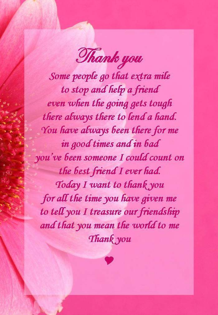 80 Thank You Quotes about Friendship Wishes and Messages | give thanks quotes, thank you quotes for him, thank you cute