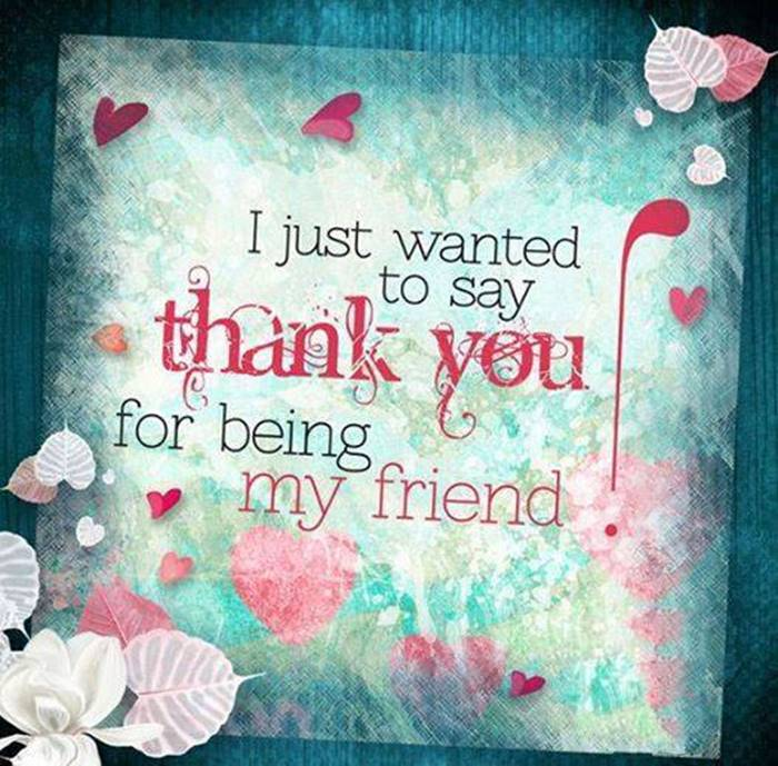 80 Thank You Quotes about Friendship Wishes and Messages | best friend appreciation quote, thank you for caring quotes, be thankful quotes