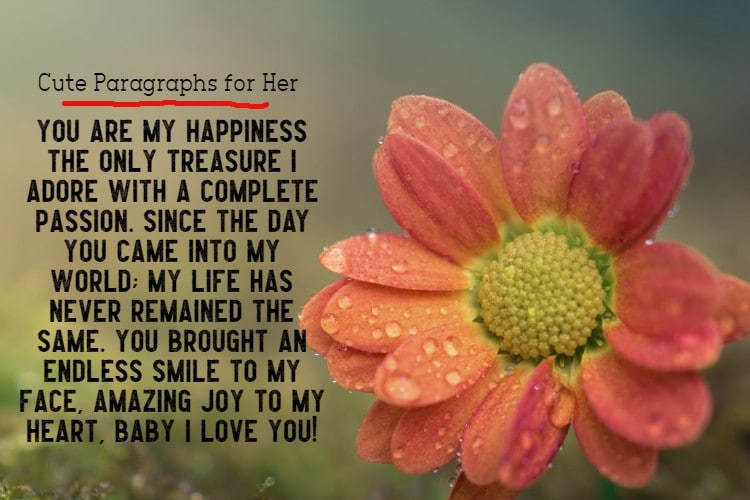 115 Heart Melting Cute Paragraphs for Her With Emojis | cute paragraphs for her, cute paragraphs for her to wake up to, long cute paragraphs for her
