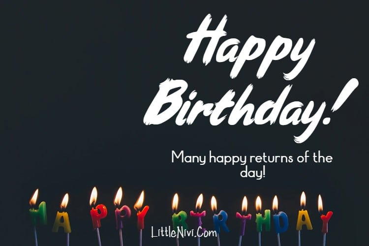 Best Simple Birthday Wishes Quotes Messages for Cards Sayings Happy Birthday 1