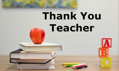 teacher appreciation thank you messages