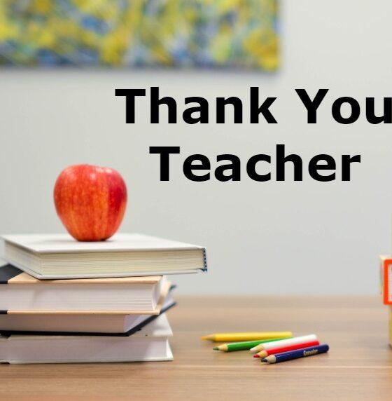 teacher appreciation thank you messages