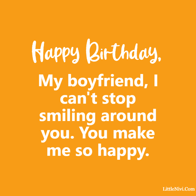 birthday greetings for boyfriend