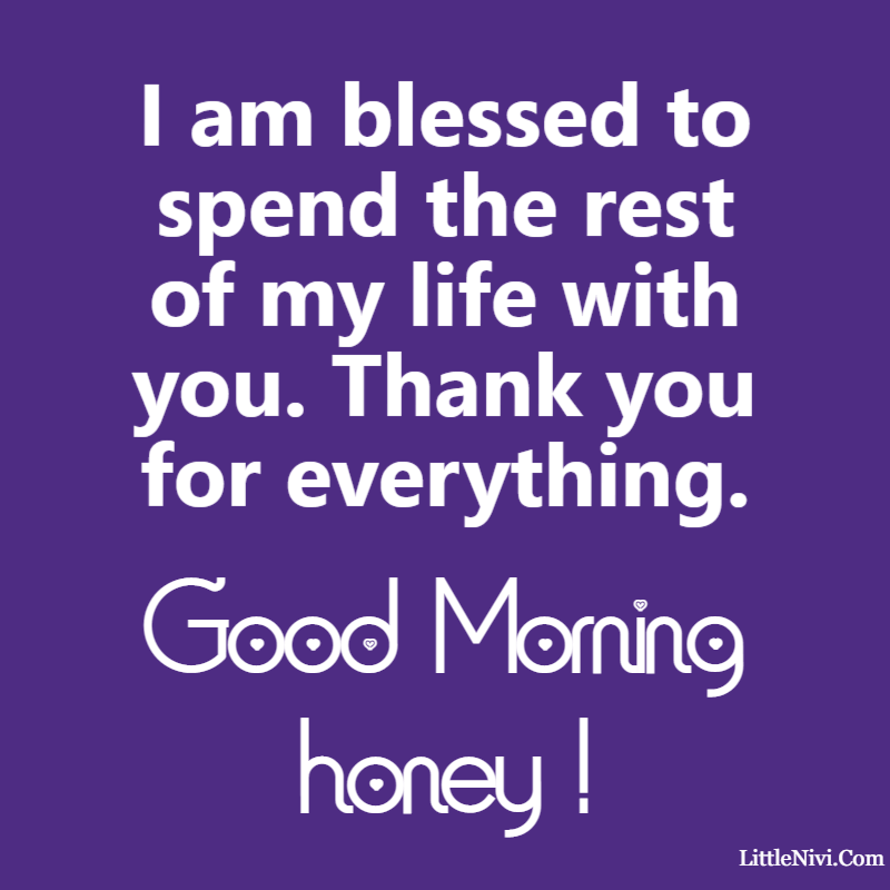 good morning love messages