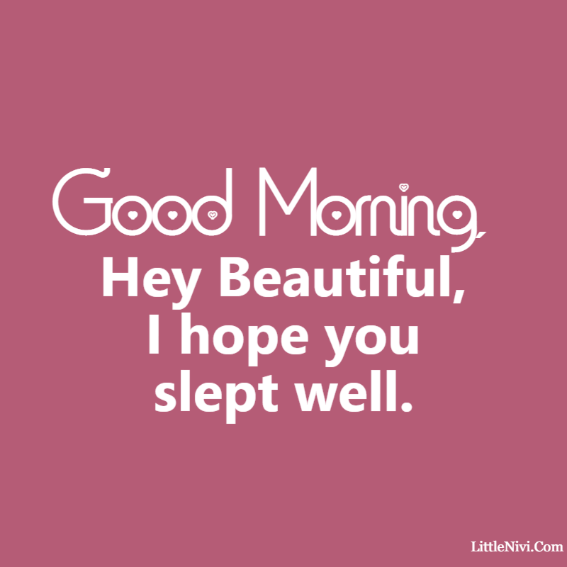 good morning love messages I love you and wish you a good morning