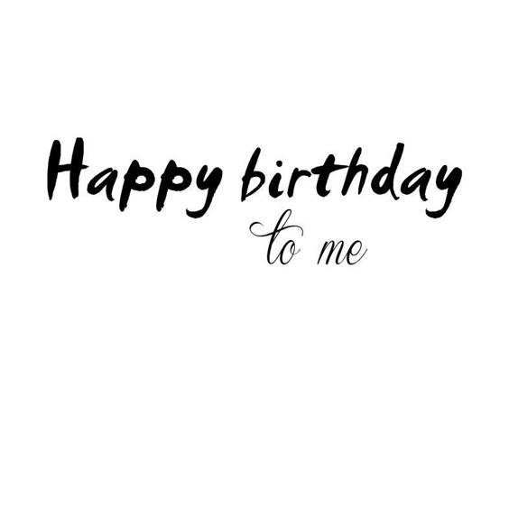 Birthday Story For Myself