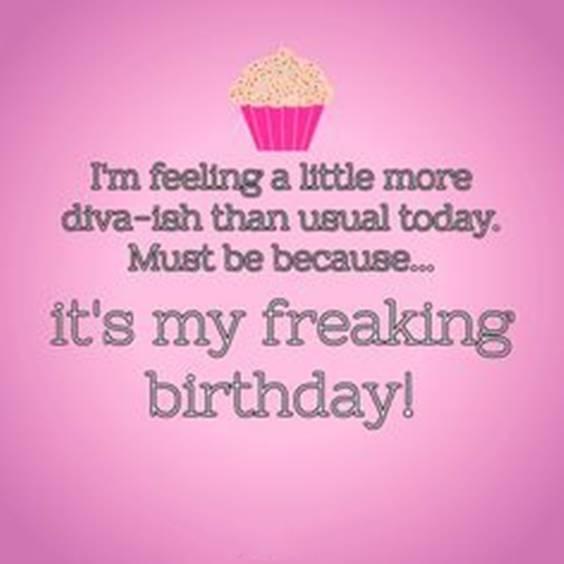 Self Birthday Wishes