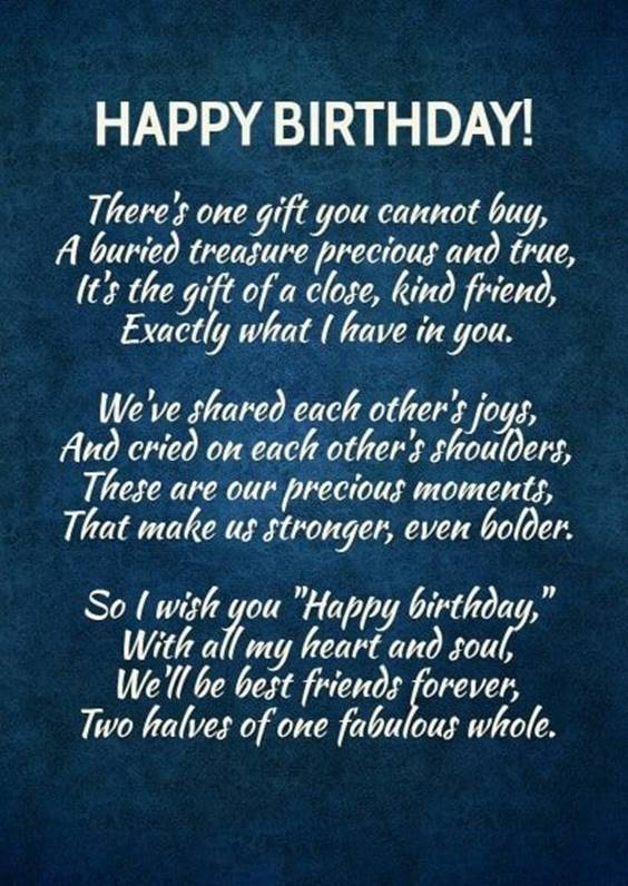 Birthday Quotes Best Friend