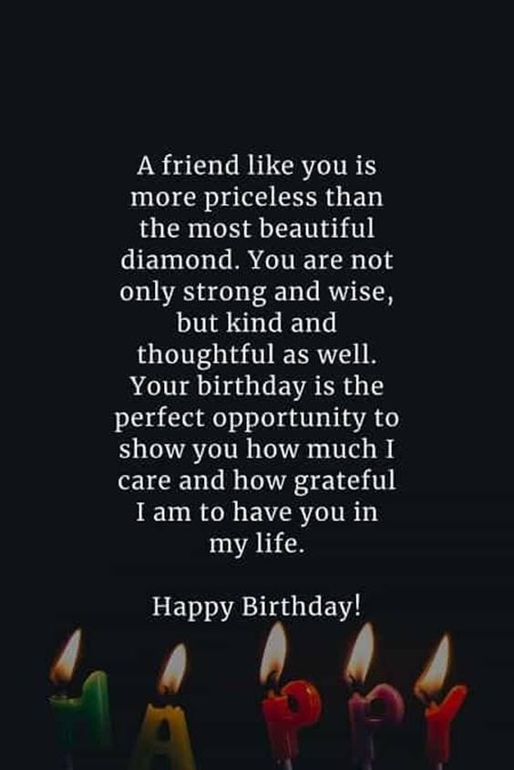 Happy Birthday Longtime Friend