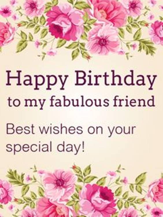 Happy Birthday Best Friend Messages