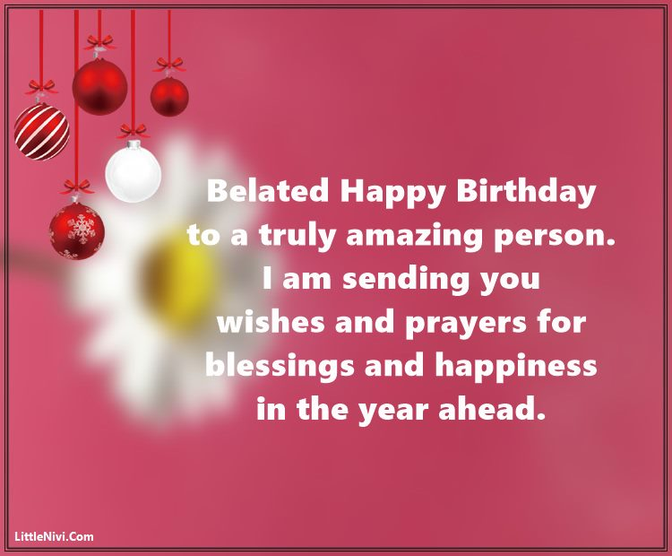 Funny Belated Happy Birthday Wishes