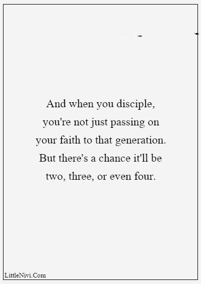 """60 Famous Grandparents Quotes """"And when you disciple, you're not just passing on your faith to that generation. But there's a chance it'll be two, three, or even four."""""""