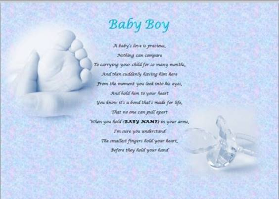 best Wishes For Baby Boy