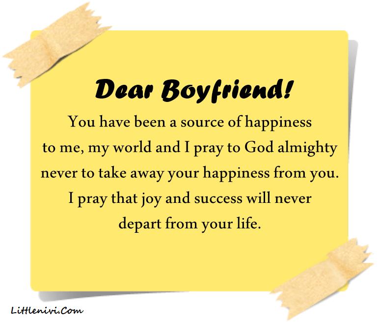 Relationship Prayer For Boyfriend