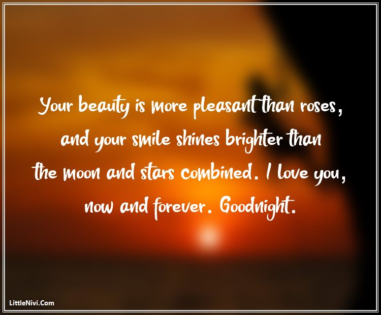 Romantic Good Night Text Messages for Her