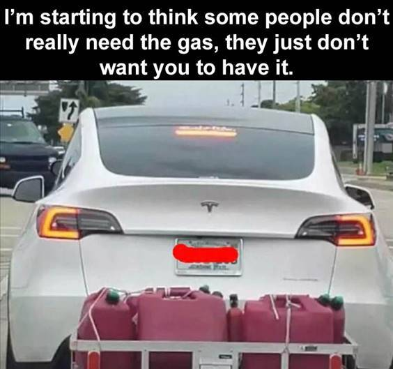 """Top 56 Hilarious Funny Memes Of All Time Worlds Funniest Memes """"People still lining up to get gas."""""""