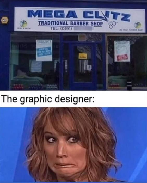 """Top 56 Hilarious Funny Memes Of All Time Excellent Memes """"The graphic designer:"""""""