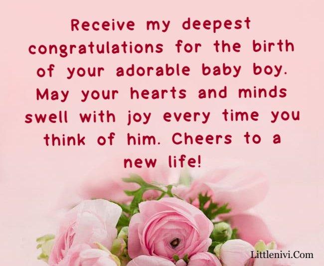 congratulations baby boy