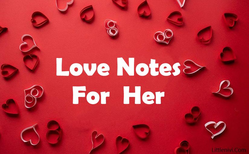 love notes for her