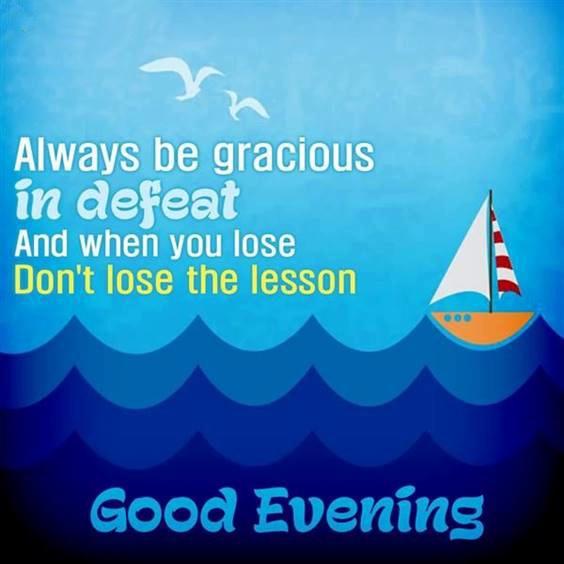 good evening cards
