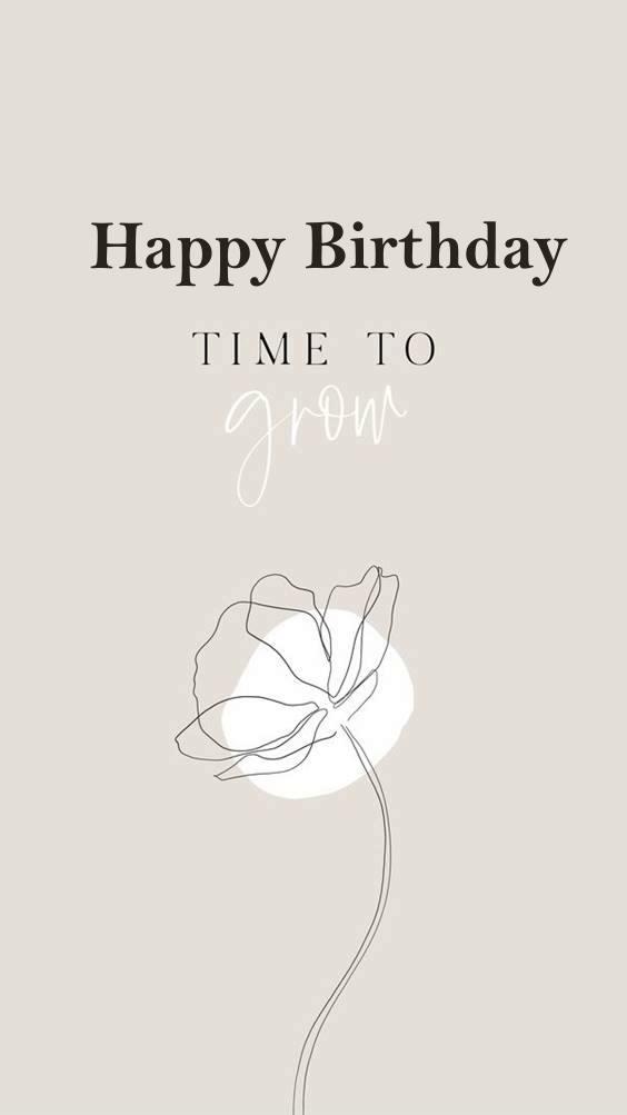 a very happy birthday