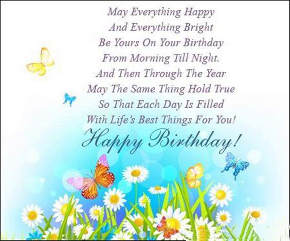 birthday blessings to someone special